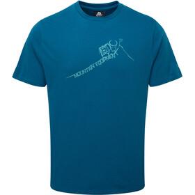 Mountain Equipment M's Yorik Tee Ink blue